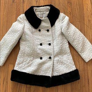 Vintage fur lined jacket